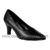 DIVINE-420 Black Faux Leather